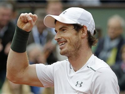 Britský tenista Andy Murray