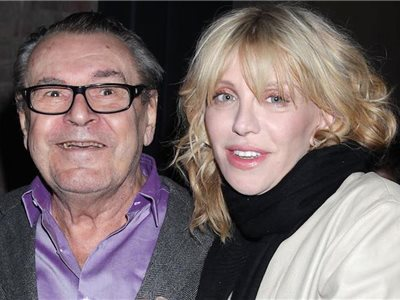 Miloš Forman a Courtney Love