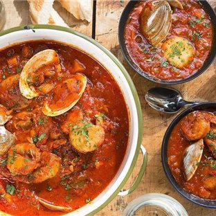 Recept :Cioppino-polievka z Kalifornie