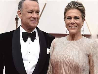 Tom Hanks a Rita Wilsonová
