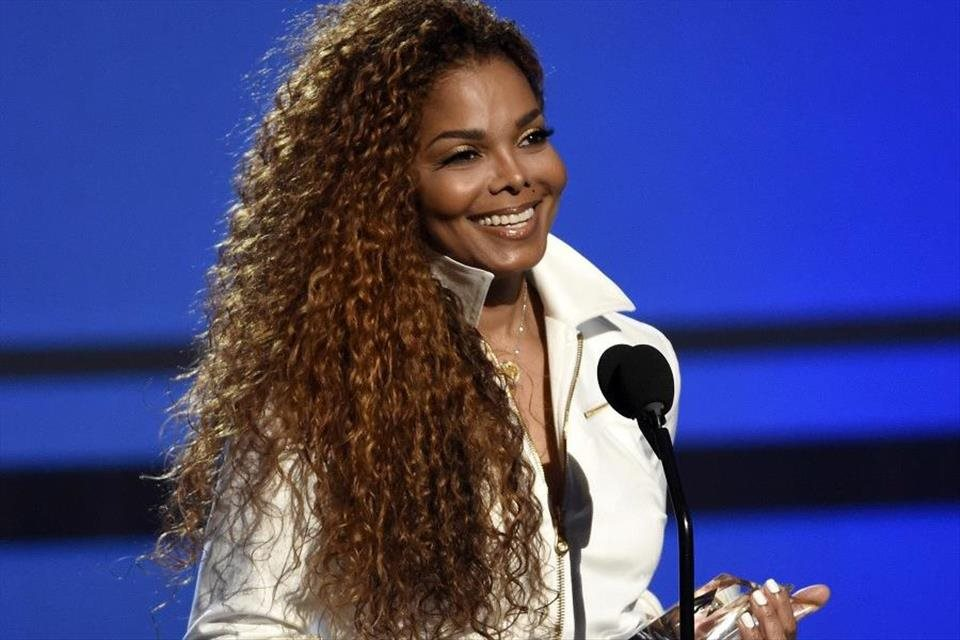 Janet+Jackson+dostane+Global+Icon+Award