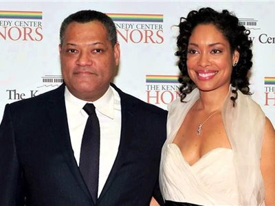 Laurence Fishburne a Gina Torres
