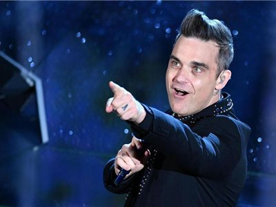 Spevák Robbie Williams