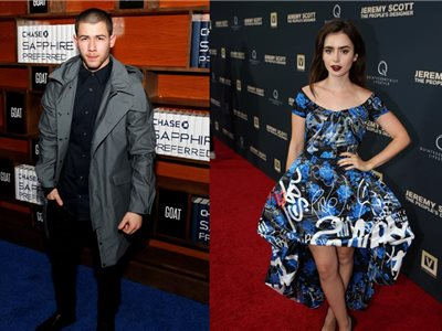 Nick Jonas a Lily Collins