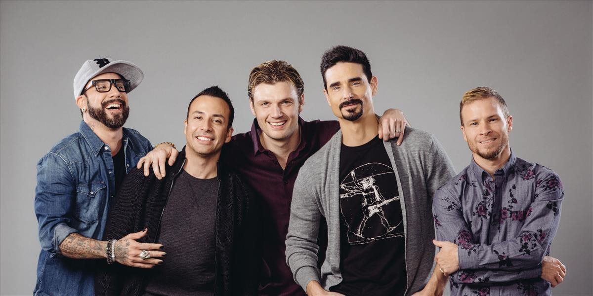 Zľava AJ McLean, Howie Dorough, Nick Carter, Kevin Richardson a Brian Littrell.