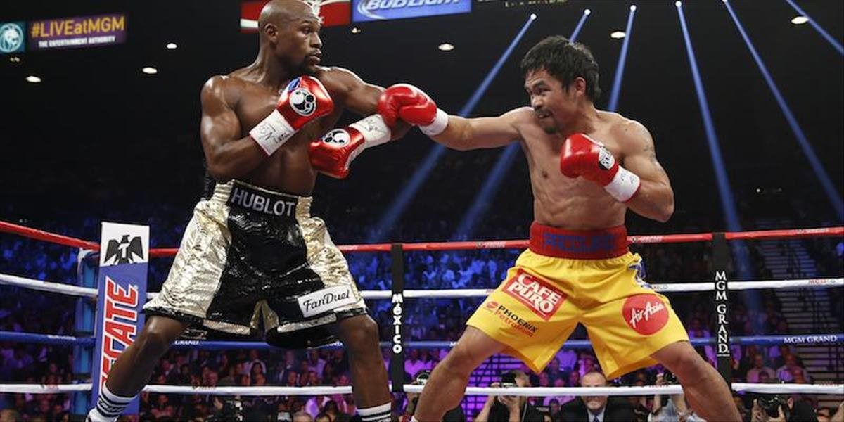 Manny Pacquiao a Floyd Mayweather Jr