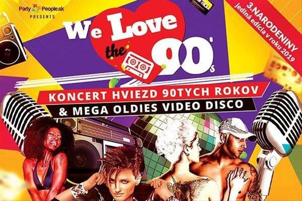 REPORTÁŽ: We Love the 90's