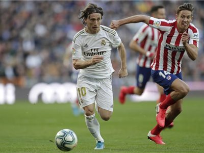 Real uspel v madridskom derby