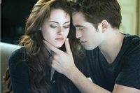 Kristen Stewart a Robert Pattinson  vo filme The Twilight Saga: Breaking Dawn