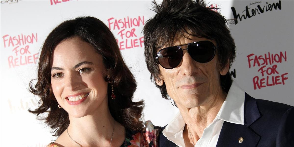 Ronnie Wood a Sally Humphries