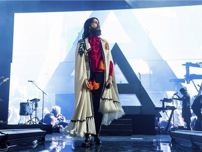 Jared Leto z kapely Thirty Seconds To Mars