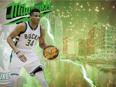 Giannis Antetokoumpo, Milwaukee Bucks.