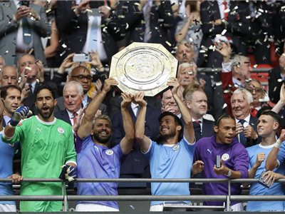 Manchester City, víťaz Community Shield 2019