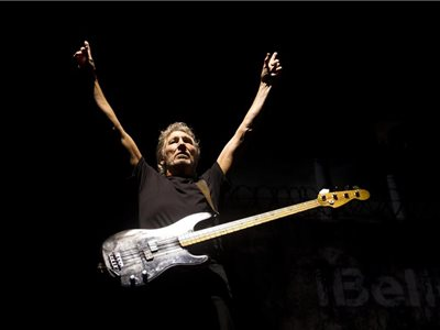 Roger Waters z kapely Pink Floyd