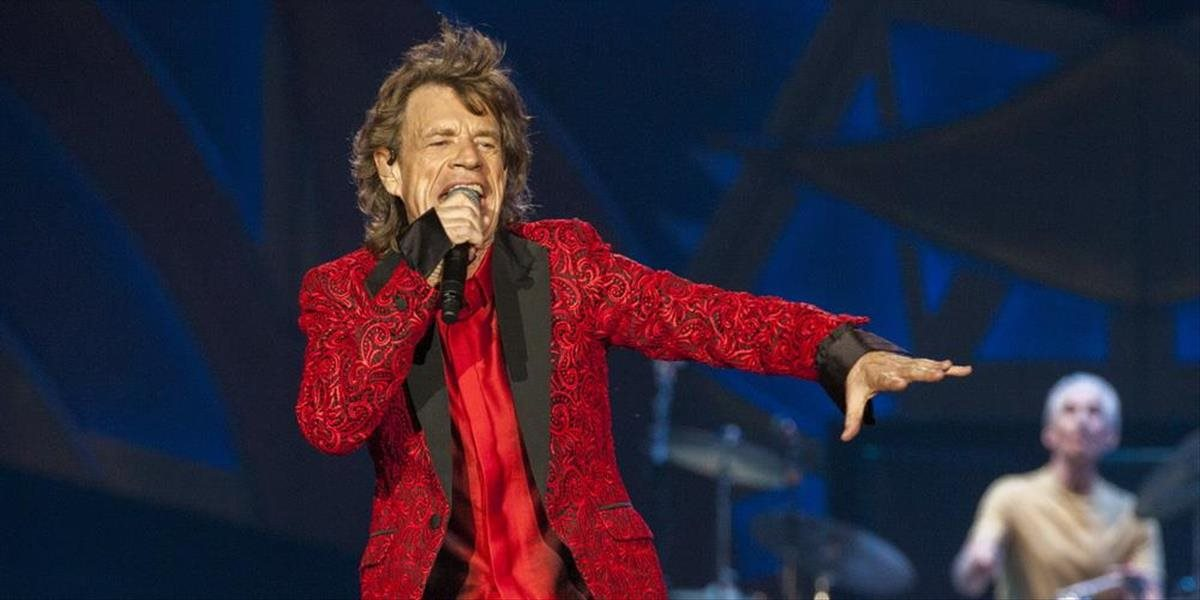 Mick Jagger z Rolling Stones